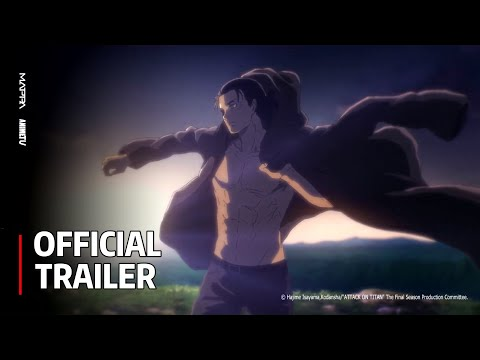 Attack on Titan The Final Season - Official Trailer 【Release Date: December 7th】